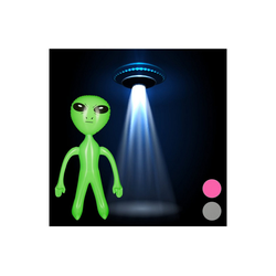 relaxdays Aufblasbares Partyzubehör Alien aufblasbar