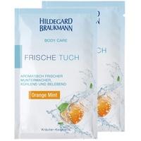Hildegard Braukmann Body Care Orange Mint Frische Tuch 10 St.