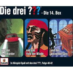 Die drei ??? Box 14 / 40-42 (drei Fragezeichen). 3 CDs