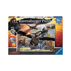 Ravensburger Puzzle Puzzle, 150 Teile XXL, 49x36 cm, Dragons:, Puzzleteile