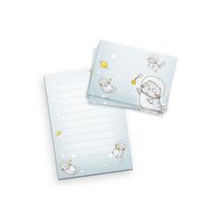 Kreative Feder Briefpapier, Briefpapier-Set für Kinder, Space Cat, DIN A5 Briefpapier-Block 50 Blatt mit 20 Umschlägen, Briefpapier mit Linien, Brief, Post, Schreiben