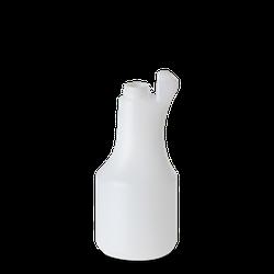 500 ml bauchige Sprühflasche - natur - DIN 28