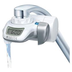 BRITA Wasserfilter Wasserhahnfilter Silber/weiß