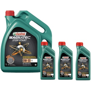 Motorenöl MAGNATEC 0W-30 C2 [8 L] von Castrol (SET15B3E58L) Öl Schmierung Motorenöl