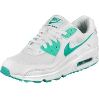 Nike Men's Air Max 90 white/black/hyper jade 44