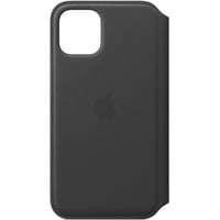 Apple iPhone 11 Pro Leder Folio Case Schwarz