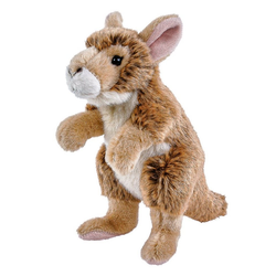 Teddys Rothenburg Kuscheltier Känguru Baby 20 cm (Babykänguru Kägurubaby Kängurus Stofftiere Plüschtiere)
