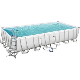 BESTWAY Power Steel Frame Pool Set 732 x 366 x 132 cm