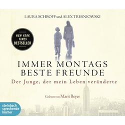 Immer montags beste Freunde als Hörbuch CD von Laura Schroff/ Alex Tresniowski