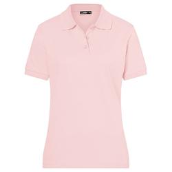 Poloshirt Classic | James & Nicholson rosa XL