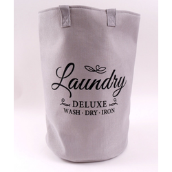 Wäschesammler LAUNDRY DELUXE(DH 33x50 cm)