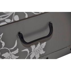 KREHER Aufbewahrungsbox Barock Grau grau