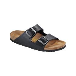 Sandale Arizona Nubukleder schmal Birkenstock schwarz