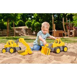 SIMBA Spielzeug-Auto BIG Power-Worker Radlader - Laster Spielzeug Sandkasten Strand Raupe