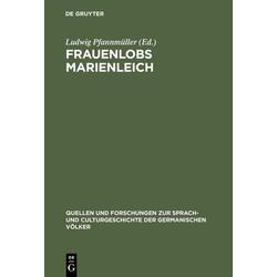 Frauenlobs Marienleich als Buch von