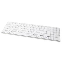 LogiLink Bluetooth Funk Slim Tastatur, weiß