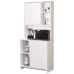 HTI-Living Küchenbuffet Küchenbuffet Malin (1-St) Pflegeleichte Oberflächen weiß