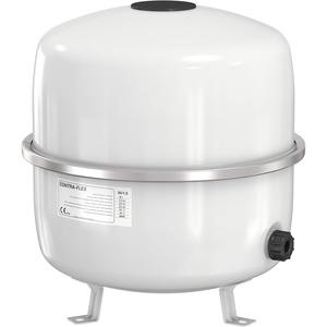 Flamco Contraflex 35 liter / 1.5 [3bar] Ausdehnungsgefäß weiß, Festmembran-Ausdehnungsgefäß für geschlossene Kreislauf- und Heizungsklimatisierungs- und Kälteanlagen 26333