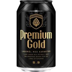 Spendrups Gold 5,9% 24 x 0,33 ltr.