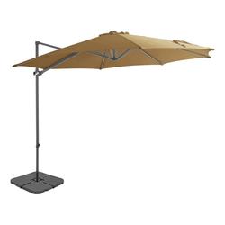 vidaXL Sonnenschirm vidaXL Sonnenschirm mit Schirmständer Grün /vidaXL Sonnenschirm mit Schirmständer Anthrazit /vidaXL Sonnenschirm mit Schirmständer Taupe braun