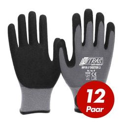 NITRAS 8910 Dexter 2 Mechanikerhandschuhe Werkstatthandschuhe Handschuhe 12 Paar - Größe:9
