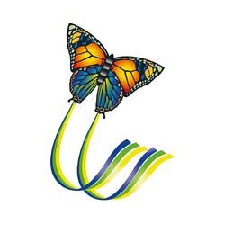Günther Flug-Drache Einleinerdrachen Schmetterling, 95 x 63 cm