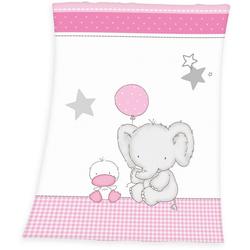 Babydecke Fynn Elefant, Baby Best, mit Elefant & Ente