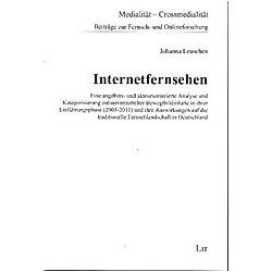 Internetfernsehen. Johanna Leuschen  - Buch
