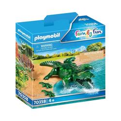 Playmobil® Spielfigur PLAYMOBIL® 70358 Alligator mit Babys