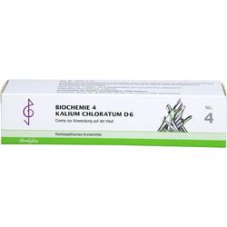 BIOCHEMIE 4 Kalium chloratum D 6 Creme 100 ml