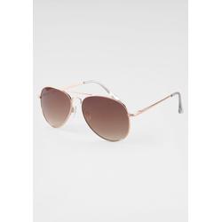 J.Jayz Sonnenbrille, Pilotsonnenbrille goldfarben Damen Sonnenbrillen Accessoires Sonnenbrille