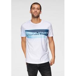 Jack & Jones T-Shirt JENSON TEE weiß L (50)