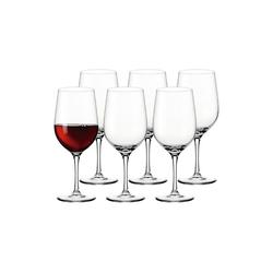 LEONARDO Rotweinglas CIAO+ Rotweinglas 610 ml 6-tlg. (6-tlg), Glas