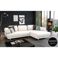 Lück GmbH & Co. KG Wohnlandschaft Skin in weiß