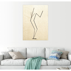 Posterlounge Wandbild, Analytische Zeichnung 100 cm x 130 cm