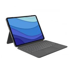 Logitech Combo Touch for iPad Pro - Bluetooth-Tastatur - grau Tastatur mit Touchpad