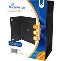 MediaRange CD/DVD-Slimcase 10er-Pack schwarz