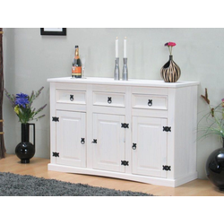 ebuy24 Sideboard New Mexico Sideboard Breite 132 cm, Höhe 84 cm mit wei�