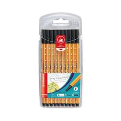 STABILO Fineliner Fineliner point 88, 10 Stück, schwarz
