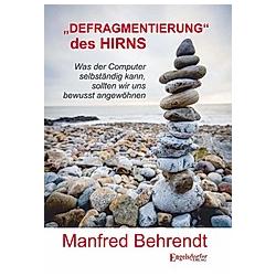 »DEFRAGMENTIERUNG« des HIRNS. Manfred Behrendt  - Buch