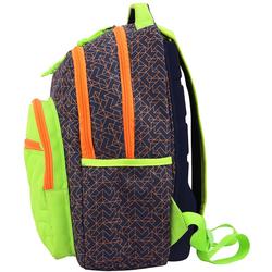 BESTLIFE Rucksack JUST blau/grün mit Laptopfach bis 15,6 Zoll