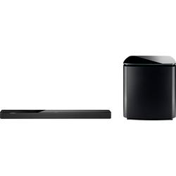 Bose Soundbar 700 + Bass Module 700 Soundbar (Bluetooth, WLAN (WiFi) schwarz