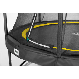 Salta Comfort Edition Combo 251 cm inkl. Sicherheitsnetz schwarz
