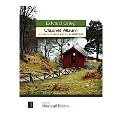 Clarinet Album  für Klarinette und Klavier. Edvard Grieg  - Buch