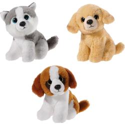 Heunec® Kuscheltier Mini Mi Hunde Set (Set, 3-St)
