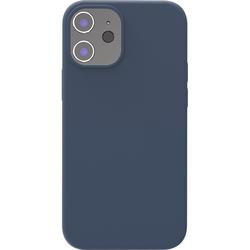 Azuri Backcover iPhone 12 Mini Silikon-Backcover in Blau