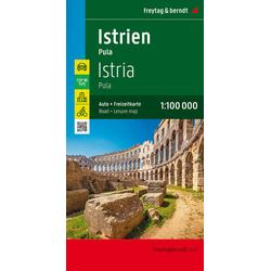 Istrien - Pula Autokarte 1:100.000 Top 10 Tips