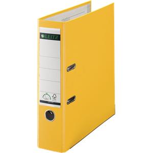 LEITZ 10105015 - Qualitäts Ordner PP 180° A4, 80 mm, gelb