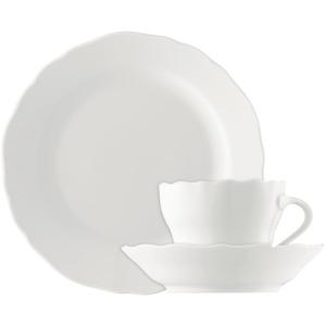 Kaffee-Gedeck 3-tlg. - Maria Theresia Weiß - Hutschenreuther - 02013-800001-18109 -