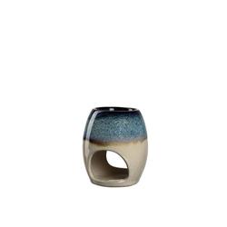 LEONARDO Duftlampe Duftlampe 11,3 cm blau/beige POSTO
